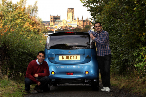 Durham to Cardiff EV image